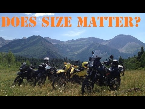 Dirtbikes & Dual Sports – Does Size Matter?