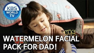 Video Watermelon facial pack for dad [The Return of Superman/2019.06.23] MP3, 3GP, MP4, WEBM, AVI, FLV Juni 2019