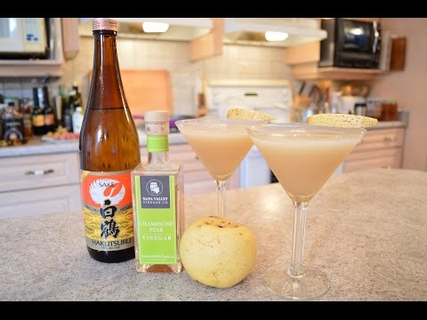 How to Make Napa Valley Asian Pear Cocktails: Cooking with Kimberly