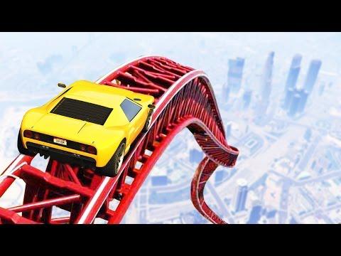 ГОНКИ НА НОВЫХ МАШИНАХ ПО БОЛЬШОЙ СПИРАЛИ В GTA 5 ONLINE (видео)