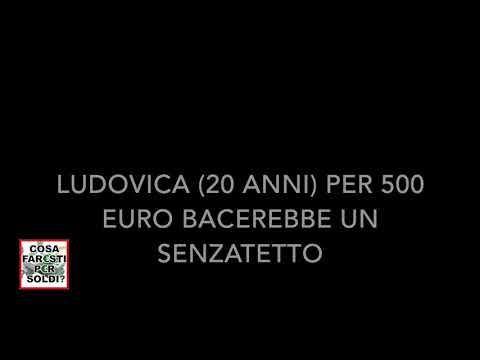 Ragazza bacia senzatetto per 500 euro