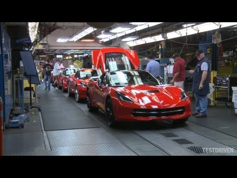 Chevrolet - 2014 Chevrolet Corvette Stingray Assembly Plant, Bowling Green, KY.
