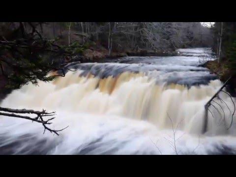 Indian Fall, Meteghan River, Nova Scotia