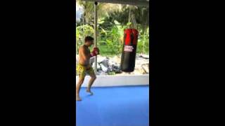 VT-1 Gym Training Fight Day 4 Thailand
