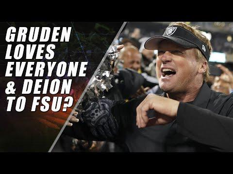 Raiders Win, Deion Sanders to FSU & The Deplorable Redskins