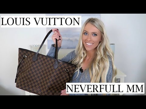 Louis Vuitton Neverfull MM Unboxing & First Impressions | Erica Lee