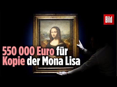 550 000 Euro für Kopie der Mona Lisa! Es stammt von einem unbekannten Künstler