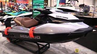 8. 2018 Sea Doo GTI Limited 155 Jet Ski - Walkaround - 2018 Toronto Boat Show