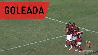 Sub-20 aplica maior goleada do Campeonato Brasileiro em cima do Goiás e se recupera na competição.---------------------Seja sócio-torcedor do Flamengo: http://bit.ly/1QtIgYl---------------Inscreva-se no canal oficial do Flamengo. Vídeos todos os dias.--- Subscribe at Flamengo channel, a 40-million-fans nation. Join us!
