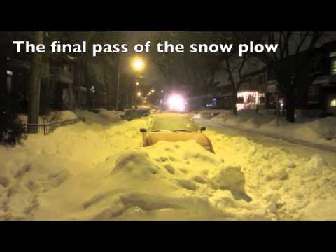 Snow Removal - 47 cm (18.5 inches) of snow fell in Montreal on Dec 27, 2012 and it took the city eight days to pass by my street. It would take another 48 hours until the o...