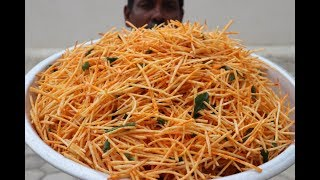 Crispy Cassava Finger Chips Recipe / Maravalli Chips / Kerala Kappa Chips / Snacks Kitchen