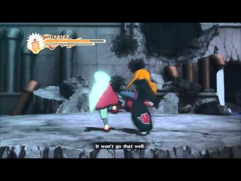 naruto shippuden ultimate ninja storm 2 xbox 360 gameplay