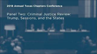 Click to play: Criminal Justice Review: Trump, Sessions, and the States