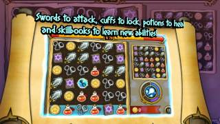 Witch Wars: Puzzle YouTube video