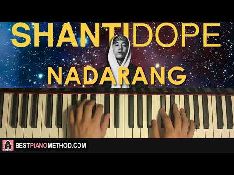 HOW TO PLAY - Shanti Dope - Nadarang (Piano Tutorial Lesson)