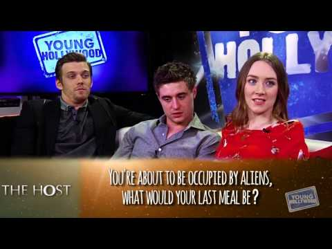The Host cast on Young Hollywood