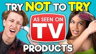 Video Teens React To Try Not To Try Challenge - As Seen On TV Products MP3, 3GP, MP4, WEBM, AVI, FLV Agustus 2019