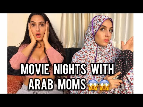Nora Fatehi | Movie Nights With Arab Moms ..... | Comedy Skit