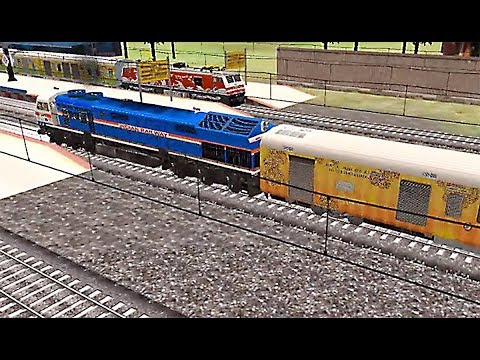 Indian Train Simulator - WDG-4 Tejas - Kharagpur to Asansol
