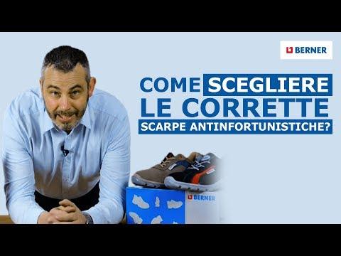 Come scegliere le corrette scarpe antinfortunistiche?