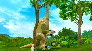 "LEGO Jurassic World Thats a Dinosaur! Welcome to Jurassic Park Scene ""Jurassic Park"""