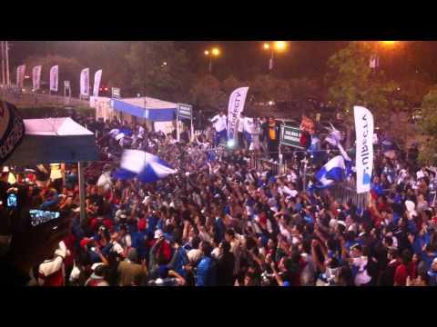 Protesta Barra Los Cruzados - Los Cruzados - Universidad Católica