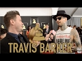The 2017 GRAMMYs: Travis Barker of blink-182