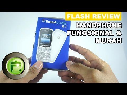 Review Handphone Fungsional dan Murah, Brandcode B1 - Flash Gadget Store Indonesia