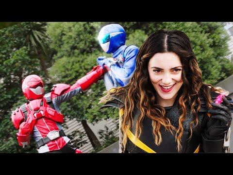 The Power Rangers vs Roxy   Beast Moprhers Season 2   Power Rangers Official