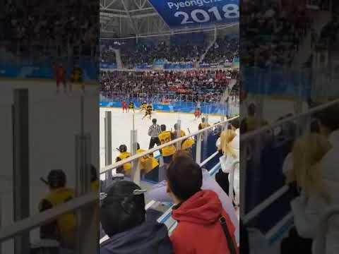 Эмоции больщиков в момент забития 4 шайбы... Россия-Германия 4:3 - DomaVideo.Ru