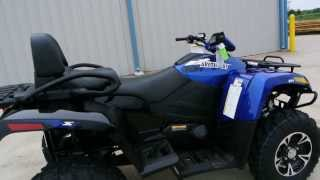 7. 2014 Arctic Cat TRV 700 XT in Viper Blue   For Sale $10,999   Overview and Review