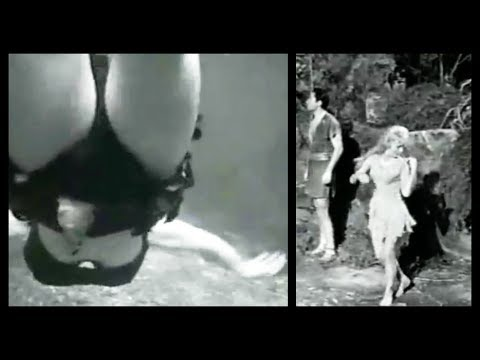 "Very Risque' Swimming Scene In ""Valley Of The Dragons"" (1961)"