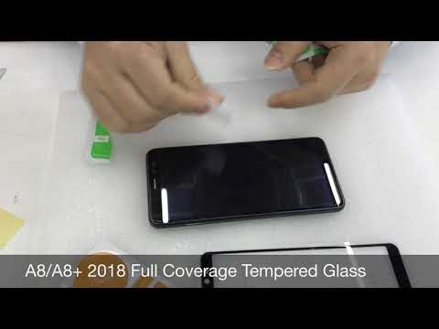 A8 2018 Tempered Glass Screen Protector