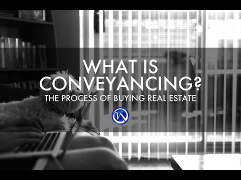 Conveyancing - The Real Estate Purchasing Process by Winright Law