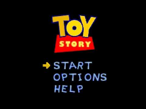 Toy Story トイ ストーリー SFC SNES Super Nintendo Unused Song 2 (Roller Bob PC) Andy Blythe, Marten Joustra