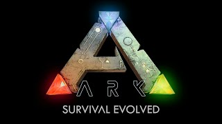 ARK:Survival Evolved Ep5 - Castle Walls & Hunting with a T-Rex