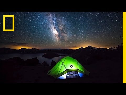 time lapse - October 23, 2013—After quitting a comfortable day job, photographer Shane Black spent two months on the road shooting time-lapses of some of America's most b...