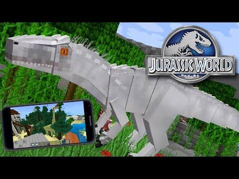 JURASSIC PARK MCPE | Minecraft PE: BKT