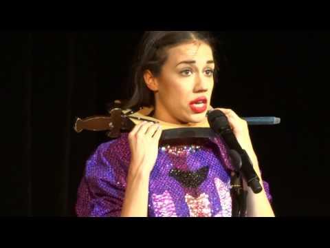 """Miranda Sings DIES onstage during magic trick! """"Think of Me"""" - #MirandaSingsBirmingham"""
