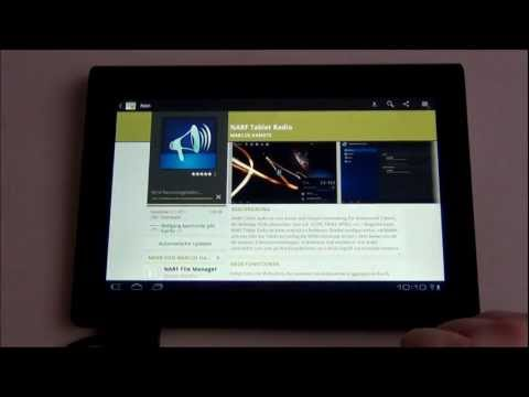 Video of NARF Tablet Radio