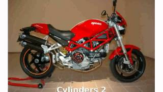 9. 2006 Ducati Monster S2R 1000 -  Top Speed superbike Info Features Engine Specs motorbike