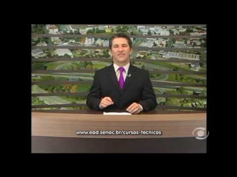Vídeo Senac Lajeado recebe inscrições para cursos técnicos a distância