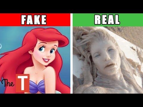 10 Disturbing REAL STORIES Behind DISNEY Fairy Tales
