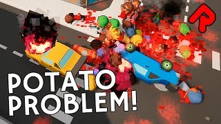 "The Potato Problem is a silly action game that adds explosions & blood to the classic Trolley Problem thought experiment, made for the Unreal Engine 4 Summer Jam 2017!► Subscribe: http://bit.ly/RandomiseUser► Patreon exclusives: https://www.patreon.com/randomiseuserFree The Potato Problem download: https://allshar.itch.io/the-potato-problem?ac=jXdAbFQFThe old ethics problem about whether you're willing to sacrifice some people to save others is revisited here in The Potato Problem gameplay, where instead of deciding to flick switches to stop people being killed by a runaway trolley, you're frantically trying to change traffic lights, force cranes to drop their load and opening manhole covers in front of people!Each level has a series of runaway vehicles ready to plough into a crowd of cute people, and your job in The Potato Problem gameplay is to minimise casualties. Most of the levels in this game jam build require you to save everyone, but sometimes you have to make sacrifices for the greater good.The Potato Problem was made for the Unreal Engine 4 Summer Jam 2017.=====Thanks for watching this let's play The Potato Problem gameplay video! Watch more Weird Indie games:Totally Accurate Battle Zombielator: https://www.youtube.com/watch?v=EXTx8aQQ6HsYou Are Fired!: https://www.youtube.com/watch?v=Jz2-QJ_htTc&index=2&list=PLLvo6-XrH1fmiyuOquPzGzqUFasi7iy7xPolka Dot Pirate: https://www.youtube.com/watch?v=KYNcEroknj0Ludum Dare 38 game jam playlist: https://www.youtube.com/watch?v=K5XwV8Xh1aA&index=1&list=PLLvo6-XrH1flxcL0igboYpUHEpKMx_eIZ=====Official The Potato Problem gameplay info:""Ever heard of the trolley problem? Well you've potatoes to save or sacrifice for the greater good. Cause mayhem, chaos, havoc and more screenshakes in order to prevent disasters. Your goal is to save people. Don't worry - you probably won't. But it will look cool anyway!The Potato Problem was made the Unreal Engine 4 Summer Jam.""Developed by: Team PotatoFormats available: PC WindowsDownload The Potato Problem for free: https://allshar.itch.io/the-potato-problem?ac=jXdAbFQF=====Randomise User is the home of the best indie games:► Watch Let's Play one-offs for the best new games: https://www.youtube.com/playlist?list=PLLvo6-XrH1fnvqfQI4mhyXJu5Y7hcS5vC► Watch Alpha Soup for your first look at games: https://www.youtube.com/playlist?list=PLLvo6-XrH1flWq5KRBP8GhUqcGxJT5cPB► Watch Weird Indie for strange & funny gameplay: https://www.youtube.com/playlist?list=PLLvo6-XrH1fmiyuOquPzGzqUFasi7iy7x► Subscribe here: http://bit.ly/RandomiseUser► Live streams: https://www.youtube.com/c/randomiseuser/live► Support us on Patreon: https://www.patreon.com/randomiseuser► Follow us on Twitter: https://twitter.com/RandomiseUserItch.io links include an affiliate code and purchases made through it may help support Randomise User in future."