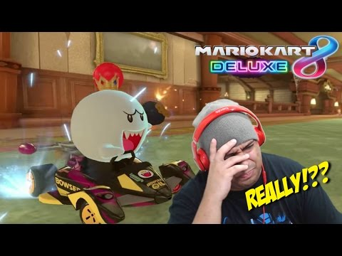 I'M DISAPPOINTED AS F#%K!!! [MARIO KART 8 DELUXE] [SUPER MARIO ODYSSEY] (видео)