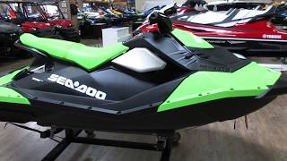 10. 2017 SEA-DOO SPARK 3UP W/ iBR AND CONVIENCE PACKAGE