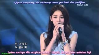 [Indo Sub] Davichi - Don't Say Goodbye [LIVE]