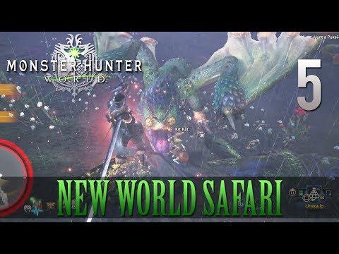 [5] New World Safari (Let's Play Monster Hunter: World [PS4 Pro] w/ GaLm)
