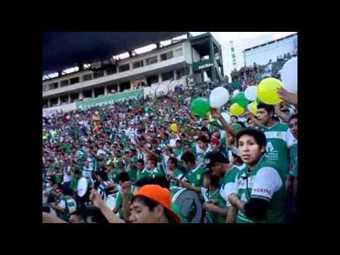 Vamo' León, Vamo' a ganar, te quiero ver... Locos de arriba León vs. Mérida 14/Abril/2012 - Los Lokos de Arriba - León