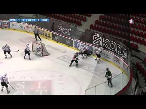 MHL: HC Energie - HK Riga, 2. třetina